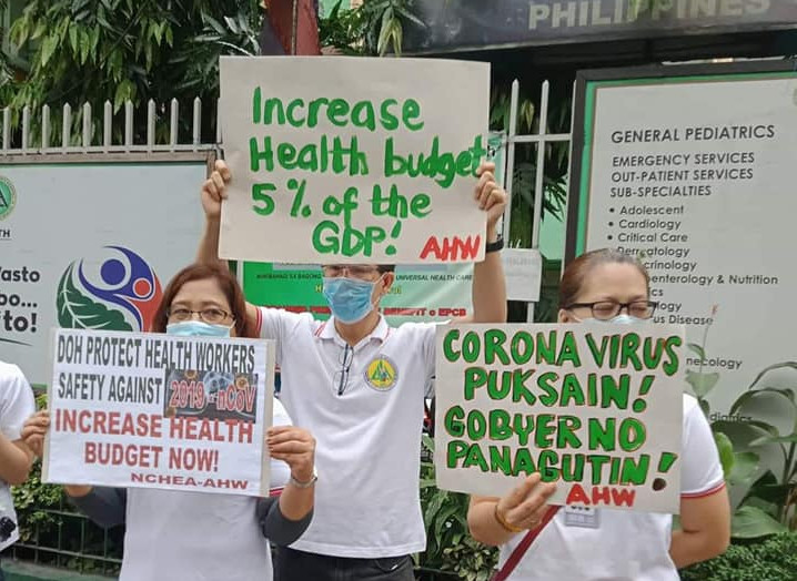 Foto Alliance of Health Workers