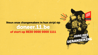 11.11.11 campagne Changemakers 2020