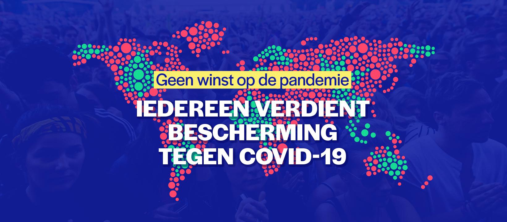 Petitie - Iedereen verdient bescherming tegen covid-19