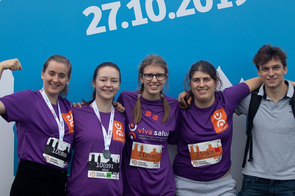 Loop Gent Marathon 2021 voor Viva Salud