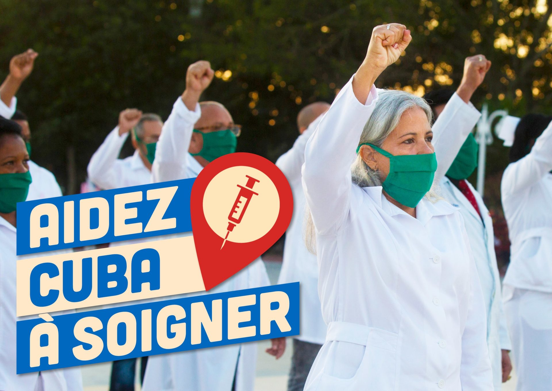 Aidez Cuba à soigner