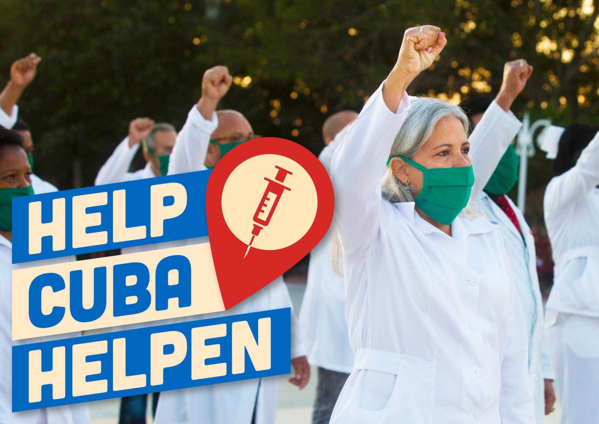 Help Cuba helpen