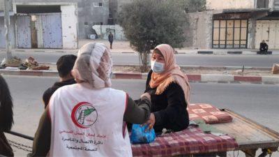 vaccination Gaza