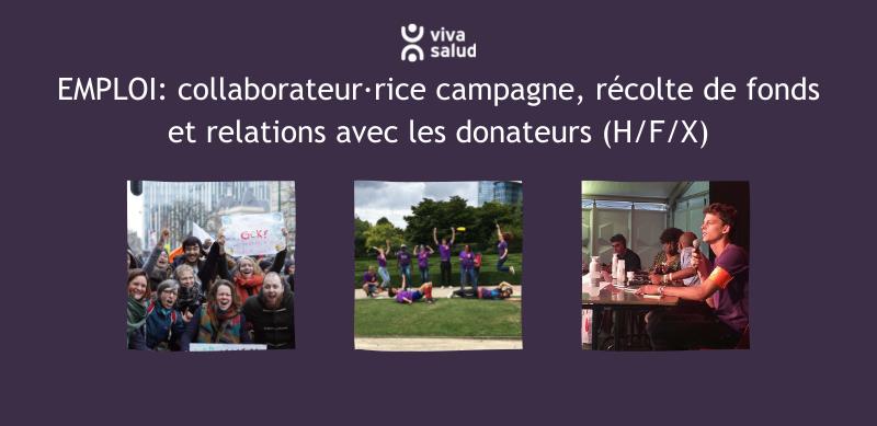 offre emploi campagne fonds et donateurs